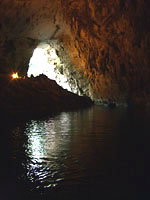 Mellisani Cave - lake photos